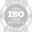 Certyfikat ISO9001:2015